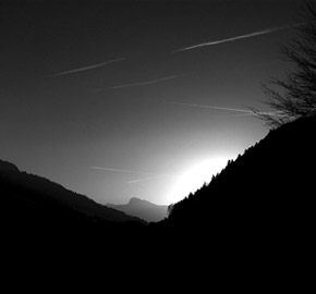 Saanen Valley Sundown